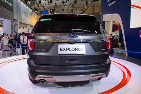 Ford Explorer ngon bo re gia 2 ty 180 trieu-10 tui khi, dong co Ecoboost, 7 cho rong rai - Anh 5