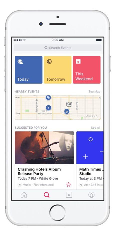 Facebook ra mat ung dung nhac nho su kien Events tren iOS - Anh 6
