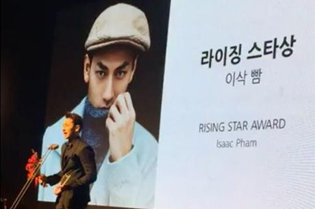 Isaac doat giai o Lien hoan phim Busan - Anh 1