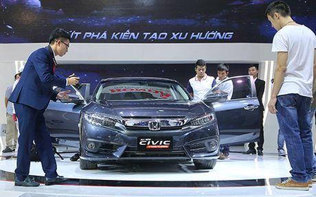 Honda Civic 'lot xac' tai VMS 2016 - Anh 1