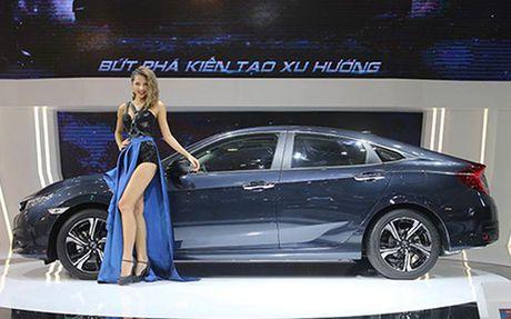 Honda Civic 'lot xac' tai VMS 2016 - Anh 2
