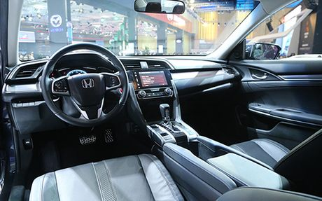 Honda Civic 'lot xac' tai VMS 2016 - Anh 3