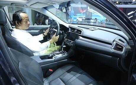 Honda Civic 'lot xac' tai VMS 2016 - Anh 4