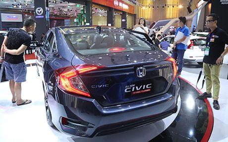 Honda Civic 'lot xac' tai VMS 2016 - Anh 9