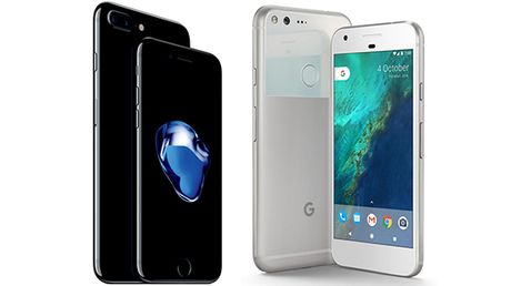 iPhone 7 'nghien nat' Google Pixel trong cac bai test? - Anh 1
