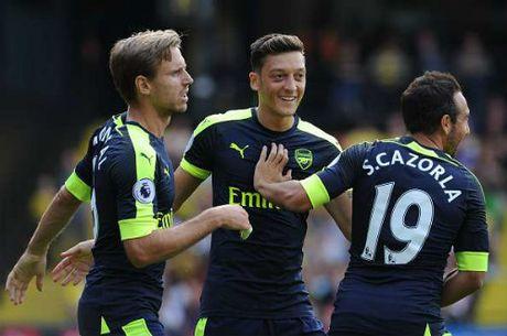 "Hieu suat kien tao Ozil bang 0: Arsenal dang ""doi moi"" - Anh 2"