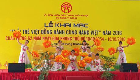 Khai mac su kien 'Tuoi tre Viet Dong hanh cung hang Viet' - Anh 3