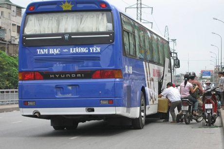 Xe khach Ha Noi - Hai Phong se chuyen het thanh xe buyt - Anh 1