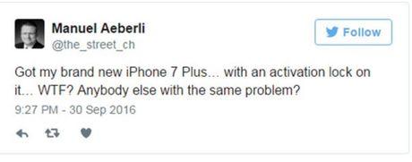iPhone 7 - may trong that tuyet nhung khong kich hoat duoc - Anh 2