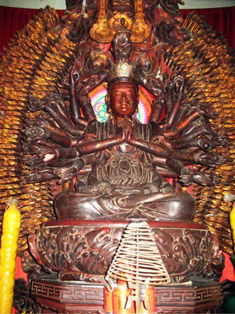 Da tim thay tuong Phat nghin tay, nghin mat bi mat trom o Hung Yen - Anh 1