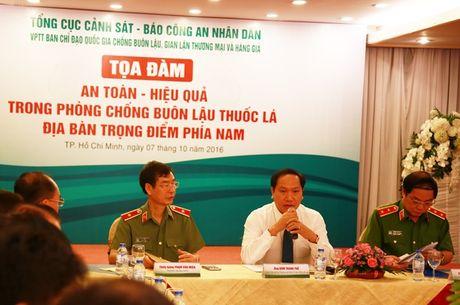 TP.HCM trien khai ke hoach chong buon lau thuoc la - Anh 1