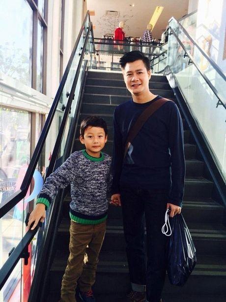 Sau li hon, Jennifer Pham hanh phuc ben chong con, Quang Dung o an tham lang - Anh 3