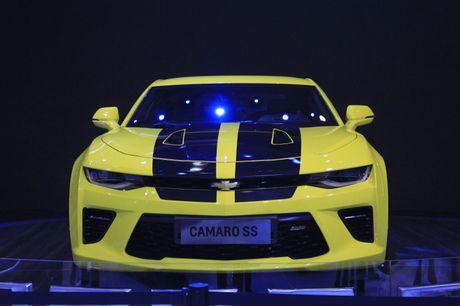 Camaro SS 2016, niem tu hao cua Chevrolet tai VMS nam nay - Anh 1