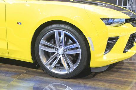 Camaro SS 2016, niem tu hao cua Chevrolet tai VMS nam nay - Anh 4