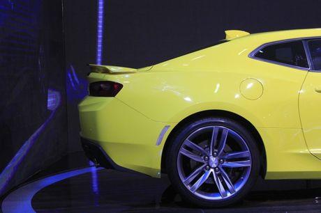 Camaro SS 2016, niem tu hao cua Chevrolet tai VMS nam nay - Anh 5