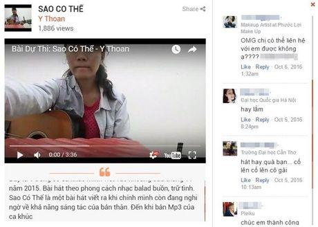 Xuc dong truoc ban ballad buon cua co gai dan toc tham du Sing My Song Online - Anh 1
