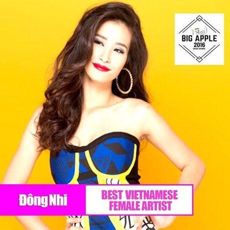 Sau My Tam, Dong Nhi - Son Tung M-TP duoc vinh danh tai Big Apple Music Awards - Anh 1