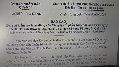 Can thu hoi dat su dung trai phep cua Cty co phan Giay Sai Gon - Anh 3