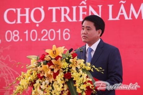 Dong tho Trung tam hoi cho trien lam lon nhat chau A - Anh 3
