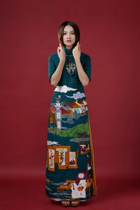 Top 10 Hoa hau Viet Nam To Nhu lam nang tho ao dai - Anh 2