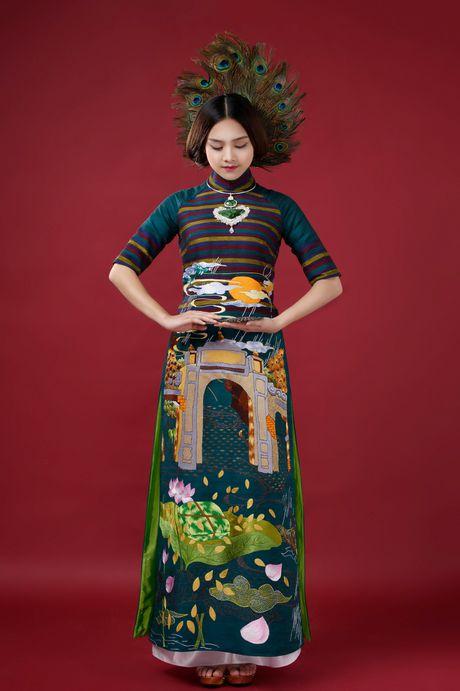 Top 10 Hoa hau Viet Nam To Nhu lam nang tho ao dai - Anh 4
