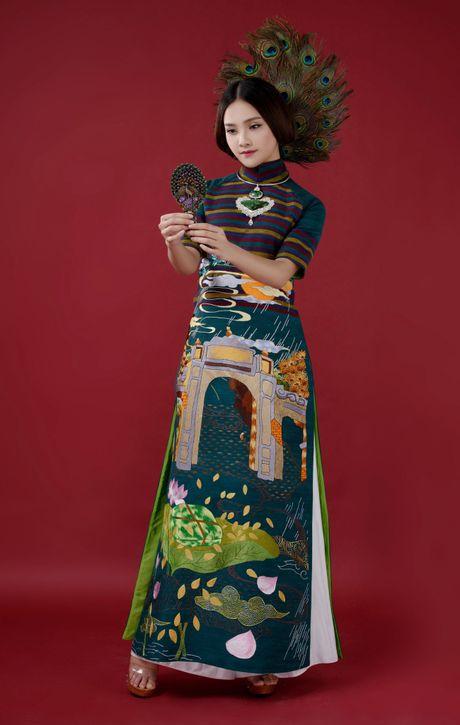 Top 10 Hoa hau Viet Nam To Nhu lam nang tho ao dai - Anh 8