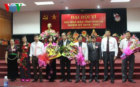 Ong Le Huy Nghia lam Chu tich Hoi Nha bao tinh Son La khoa VI - Anh 1