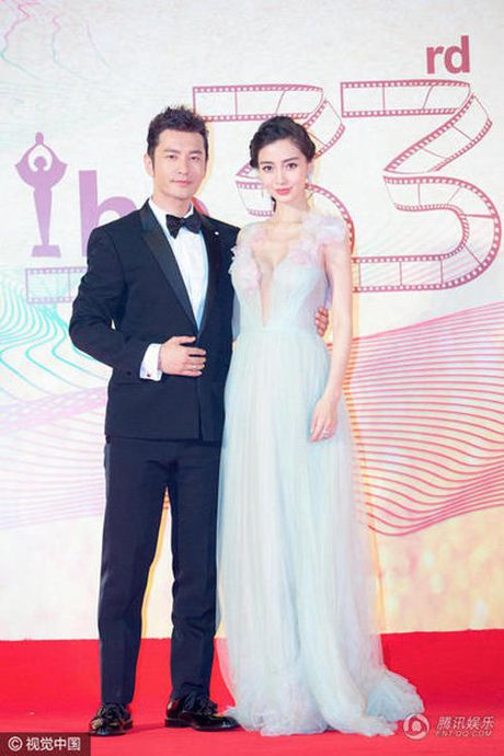 Angelababy gay to mo vi 'bung bau' to nho that thuong - Anh 4