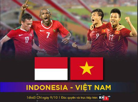 Xem truc tiep Indonesia vs Viet Nam tren kenh nao? - Anh 1