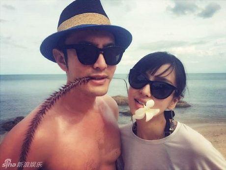 Huynh Hieu Minh khoe anh chinh thuc xac nhan vo bau bi - Anh 3