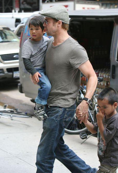 Ket qua dieu tra vu Brad Pitt bao hanh con trai nuoi - Anh 4