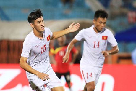 U19 Viet Nam 'tong duyet' chuan bi cho VCK U19 chau A - Anh 1