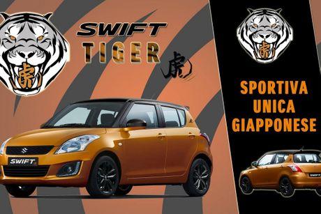 Suzuki ban dac biet Swift Tiger 'chot gia' 339 trieu dong - Anh 1