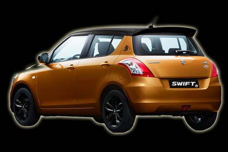 Suzuki ban dac biet Swift Tiger 'chot gia' 339 trieu dong - Anh 3