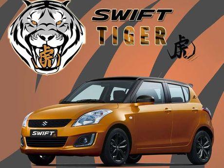 Suzuki ban dac biet Swift Tiger 'chot gia' 339 trieu dong - Anh 6