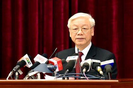 Khai mac Hoi nghi lan thu 4 Ban chap hanh Trung uong Dang khoa XII - Anh 1