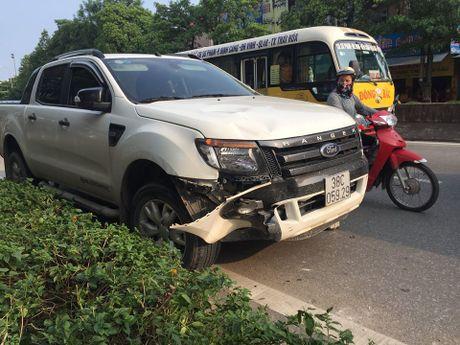Nghi say ruou, lai xe ban tai dam bay xe may nhung van khong nhan - Anh 2