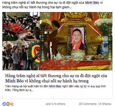Tin don Minh Beo tu tu trong nha tu Theo Lacy chi la tin vit? - Anh 1