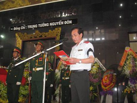 Truy dieu dong chi Trung tuong Nguyen Don - Anh 3