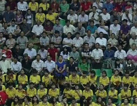 Giai bong chuyen nu Quoc te VTV Cup: Tuyen Viet Nam thang dam ngay xuat quan - Anh 1