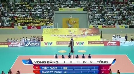 Giai bong chuyen nu Quoc te VTV Cup: Tuyen Viet Nam thang dam ngay xuat quan - Anh 2