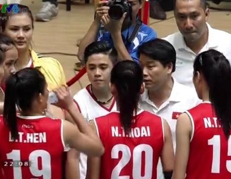 Giai bong chuyen nu Quoc te VTV Cup: Tuyen Viet Nam thang dam ngay xuat quan - Anh 4