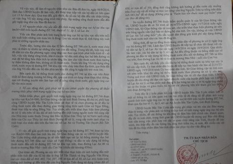 Cheo thuyen tren tinh lo tai Binh Duong: Chinh quyen 'hua' se xu ly va khac phuc trinh trang ngap lut - Anh 1