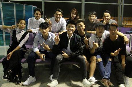 Noo Phuoc Thinh tuoi roi tai san bay Han, chuan bi bung no o Asia Song Festival - Anh 2