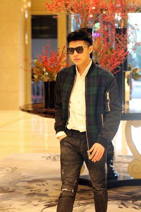 Noo Phuoc Thinh tuoi roi tai san bay Han, chuan bi bung no o Asia Song Festival - Anh 5
