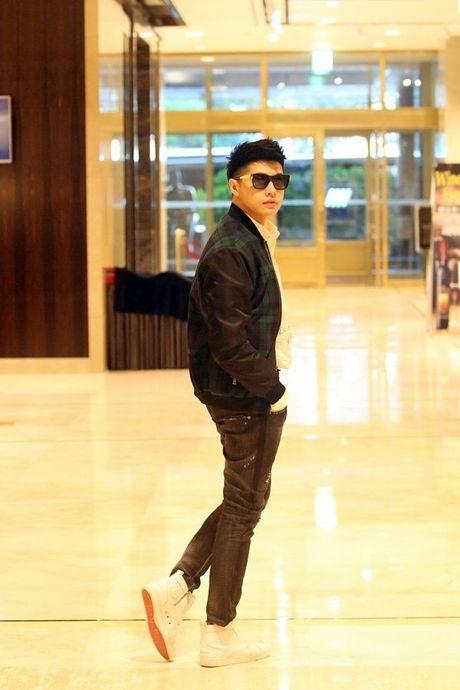 Noo Phuoc Thinh tuoi roi tai san bay Han, chuan bi bung no o Asia Song Festival - Anh 6