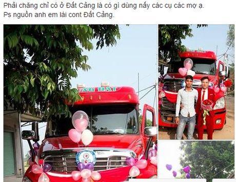 Chu re don dau bang xe Container gay 'nao loan' mang xa hoi - Anh 1