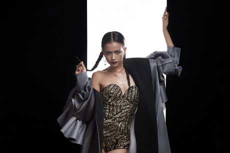 Ngoc Chau tung bo anh cuon hut, xung dang quan quan Next Top Model - Anh 7