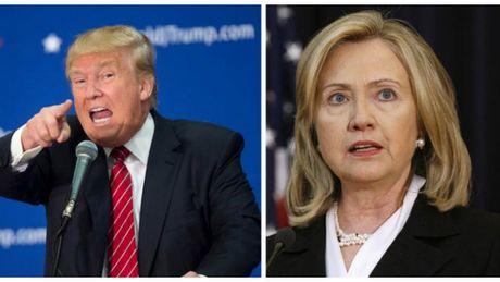 Ong Trump: Ba Clinton co loi trong be boi tinh ai cua chong - Anh 1