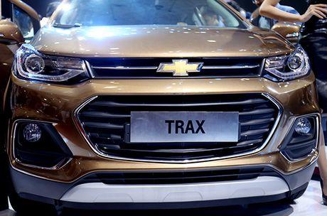 Chi tiet mau SUV do thi Chevrolet Trax 2017 tai Viet Nam - Anh 3